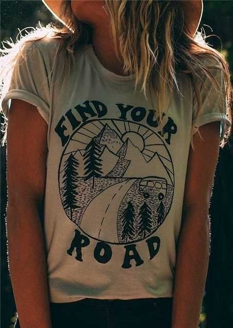 Find Your Road O-Neck T-Shirt