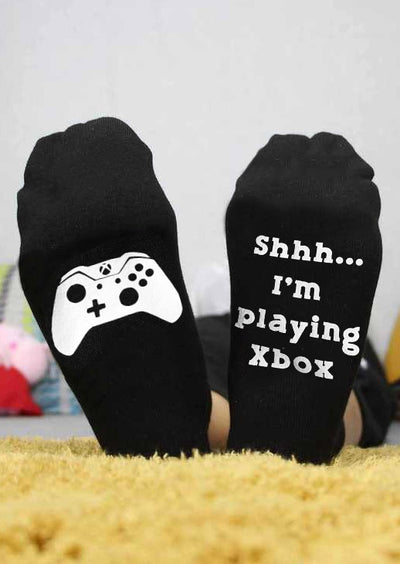 I'm Playing Xbox Socks