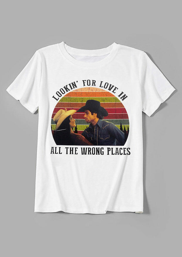 Lookin For Love Cowboy T-Shirt