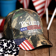 American Flag Trump 2020 Hat