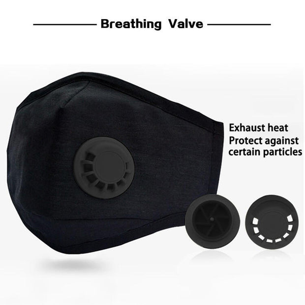 Replaceable Filter Adjustable Washable And Reusable Mask