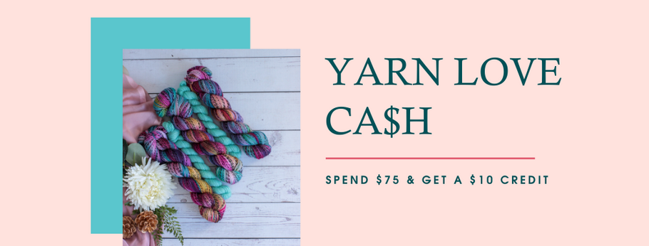 Skein Squad Rewards - January 2021 - Yarn Love Cash