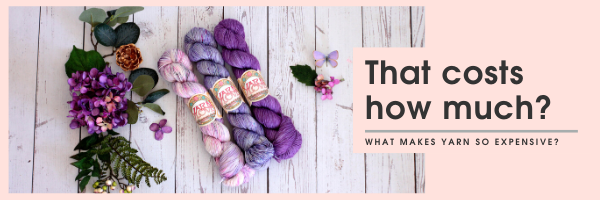 Why is hand dyed yarn so expensive?