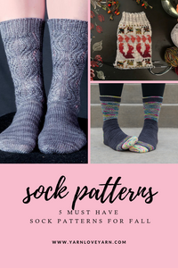 5 Must-Have Patterns for Socktober