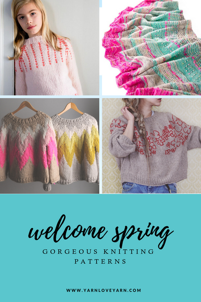 Knits To Welcome Spring