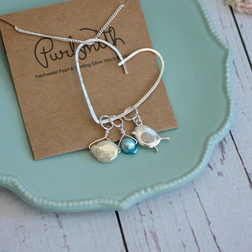 PurlSmith Cherish Stitch Marker Necklace