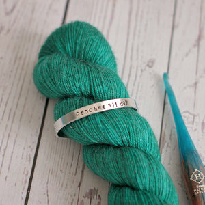 Crochet All Day Cuff Bracelet