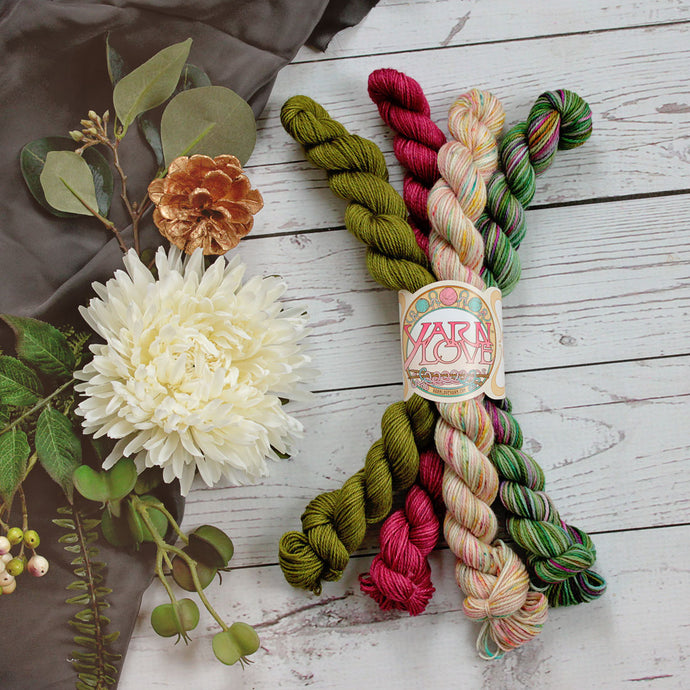 Holly Jolly Mini Skein Pack