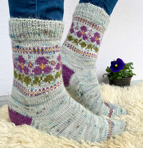 Perfect Pansy Socks Skein Pack