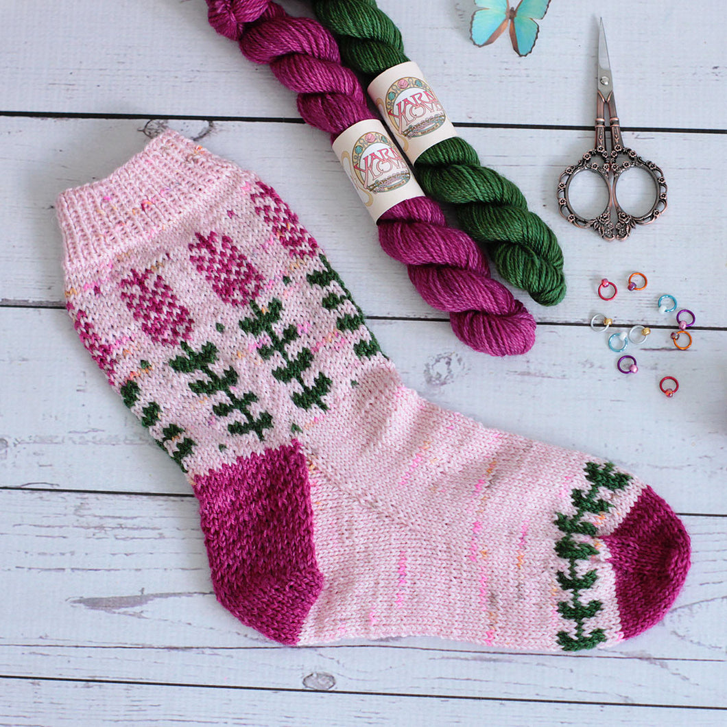 Lavender Socks Mini Skein Pack