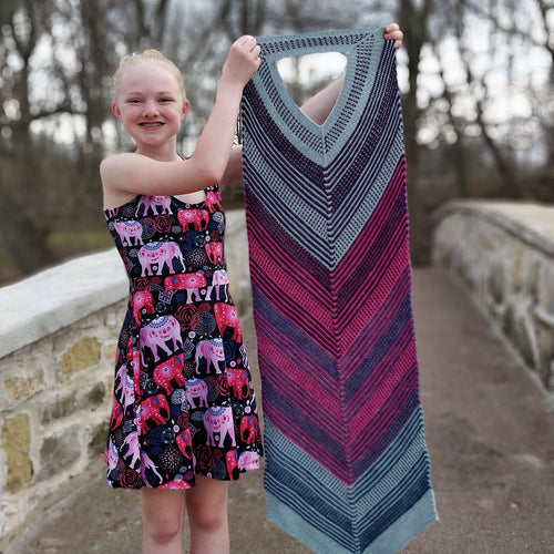 Spectrum of Love Shawl Kit