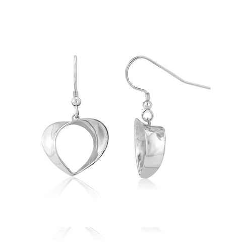 Florence heart earrings