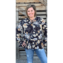 Load image into Gallery viewer, Raquel Floral Blouse - Corky Lou