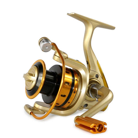 Metal Front Drag Fishing Reel