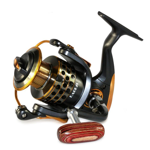 Wood Handle Fishing Reels