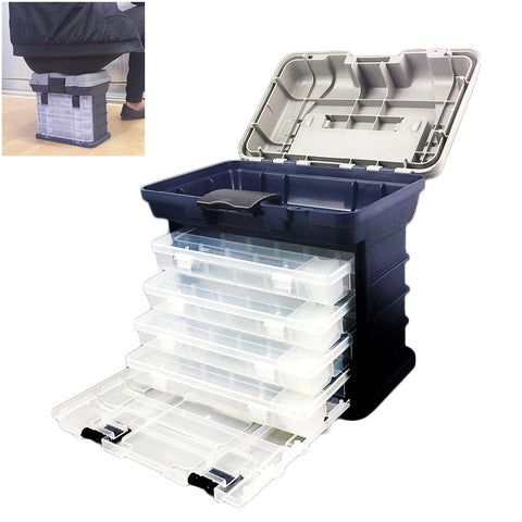 High Quality Plastic Handle Fishing Box