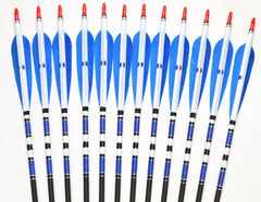 Real Turkey Feather Carbon Arrows