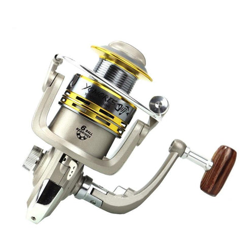 Universal Half Metal Spinning Fishing Reel