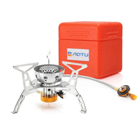 Split Windproof Gas Stove
