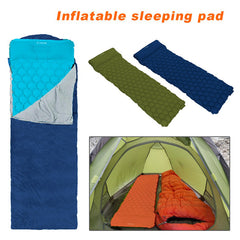 Camping Mat With Pillow Matress Cushion