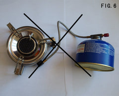 Split Infrared Portable Stove