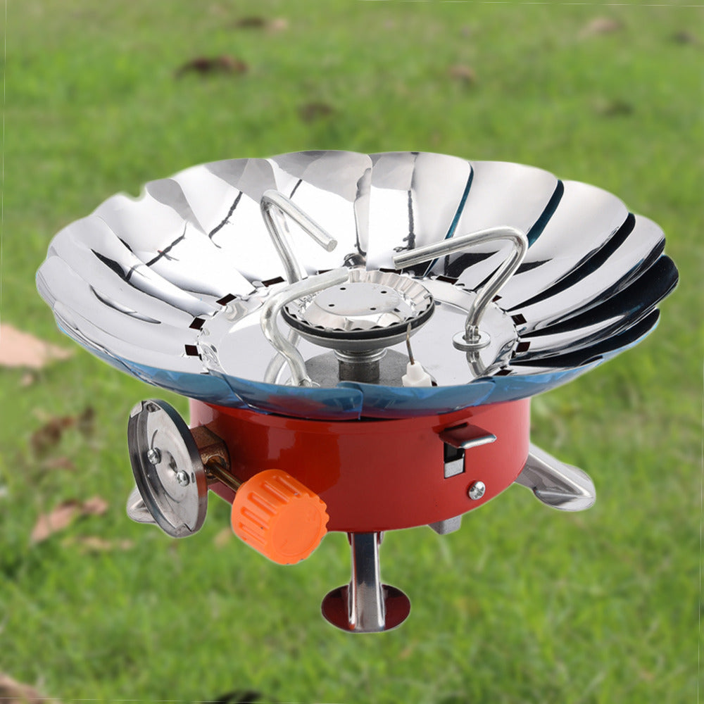 Windproof Camping Steel Gas Stove