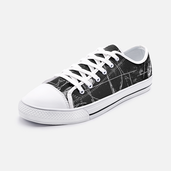Music Low Top Canvas Shoes Madella-Mella Style
