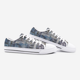 CUBE 8 Unisex Low Top Canvas Shoes- Madella-Mella Style - Shop Madella-Mella Style