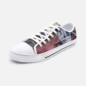 Love red Low Top Canvas Shoes Madella-Mella Style