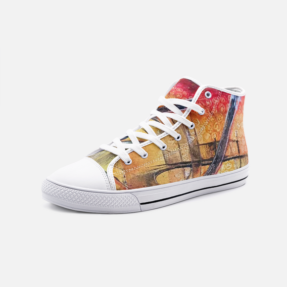 Favorit Unisex High Top Canvas Shoes Madella-Mella Style