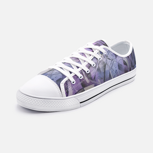 Flieder Low Top Canvas Shoes Madella-Mella Style