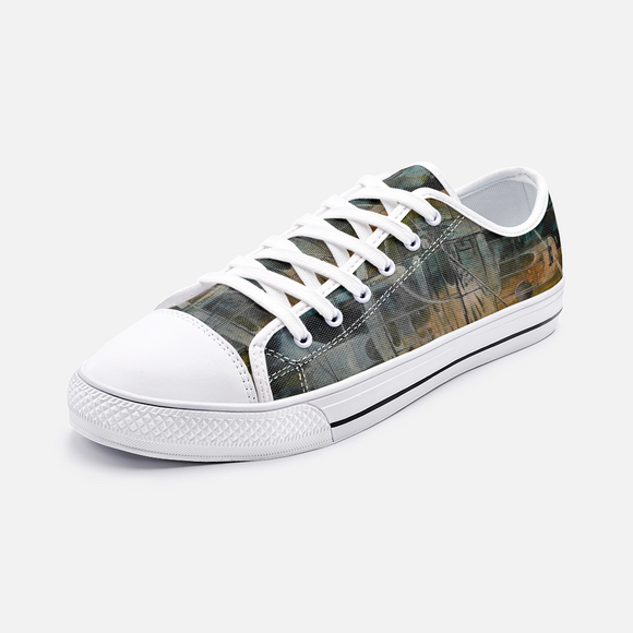 Gateway 1 Unisex Low Top Canvas Shoes- Madella-Mella Style - Shop Madella-Mella Style