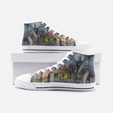 CUB 8 Unisex High Top Canvas Shoes- Madella-Mella Style - Shop Madella-Mella Style