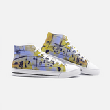 Music 1 Unisex High Top Canvas Shoes- Madella-Mella Style - Shop Madella-Mella Style