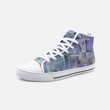 Lila High Top Canvas Shoes Madella-Mella Style