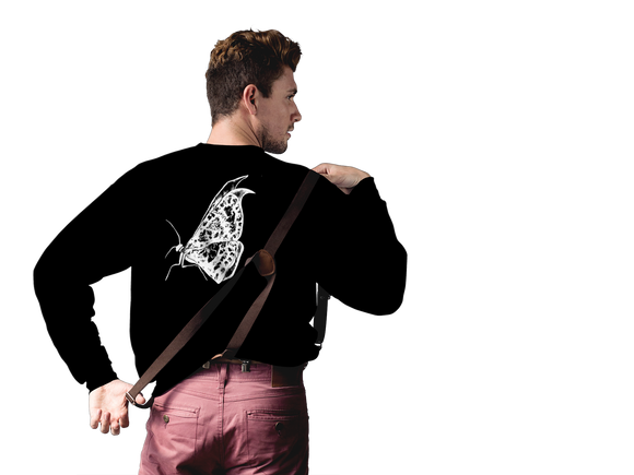 Butterfly 001 Sweatshirt Men´s Fashion Madella-Mella Style - Shop Madella-Mella Style