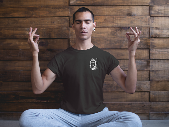 Meditation T-Shirt Men´s Fashion Madella-Mella Style - Shop Madella-Mella Style