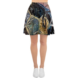 Communication Skater Skirt Women´s Fashion Madella-Mella Style - Shop Madella-Mella Style