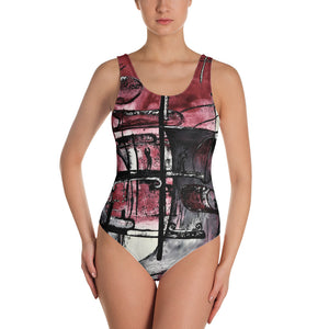 Dance Alpha One-Piece Swimsuit Women´s Fashion Madella-Mella Style - Shop Madella-Mella Style