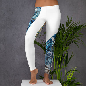 Communication 2 Leggings Women´s Fashion Madella-Mella Style - Shop Madella-Mella Style