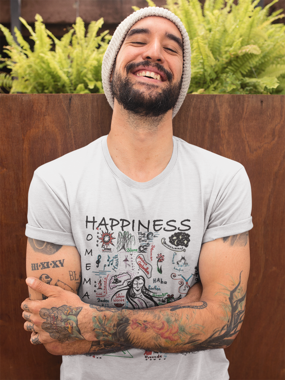 Happiness is Homemade 001 T-Shirt Men´s Fashion Madella-Mella Style - Shop Madella-Mella Style