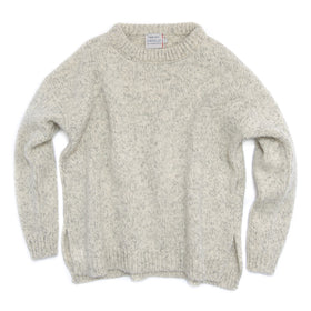 Nansen Woman's Split Seam Sweater, Grey Melange