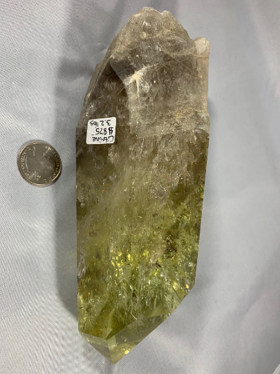 Large Citrine Natural Point