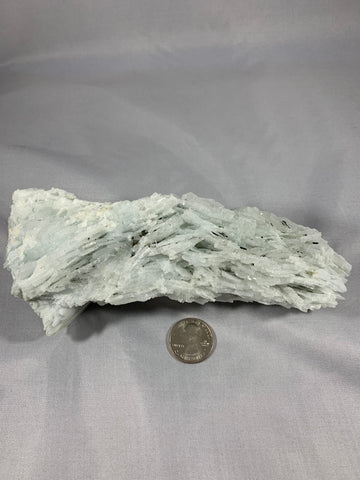 Clevelandite (Cleavlandite) with Black Tourmaline