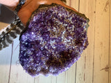 Amethyst with Quartz