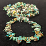 Natural Turquoise Chip Bracelet