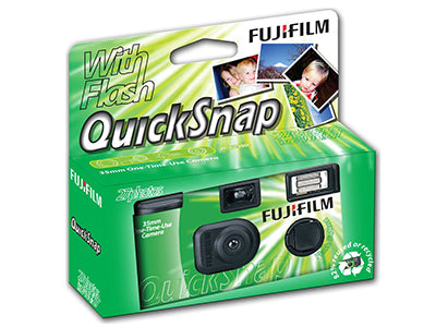 Fujifilm Quickflash with Flash