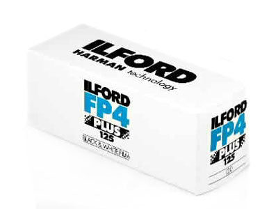 Ilford FP4 120 roll film