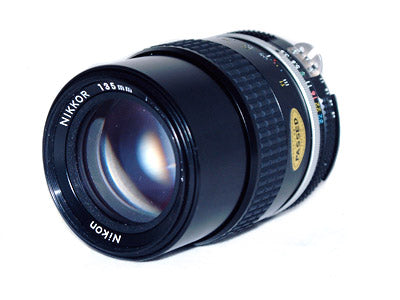 Nikon 135mm f3.5 Manual Focus Lens