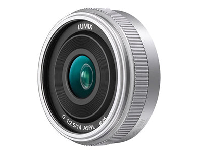 Panasonic 14mm f2.5 Pancake Lens